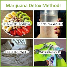 marijuana detox methods